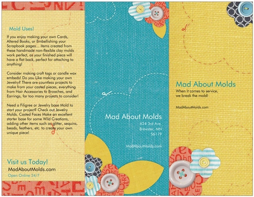 Mad About Molds Brochures (Download)