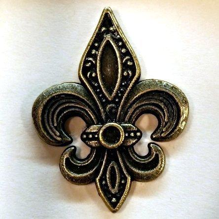 Fleur-De-Lis Emblem