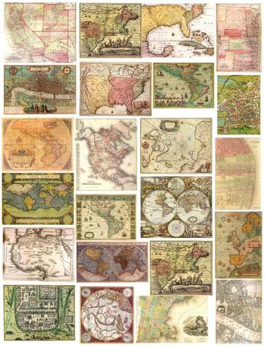 Antique Map Image (Download)