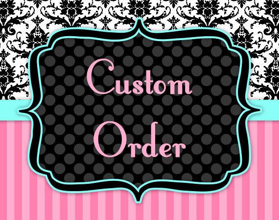 Custom Order Payment