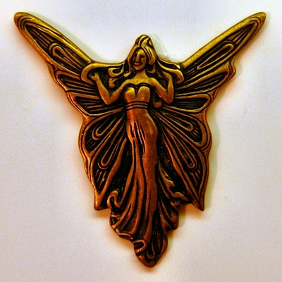 European Art Nouveau Fairy