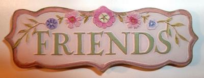 Friends Plate