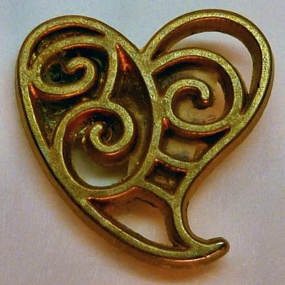 Scrollwork Heart
