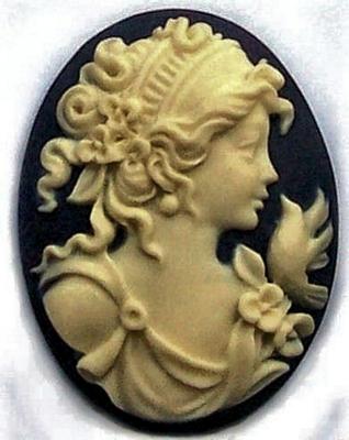 Greek Goddess with Bird