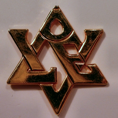Star of David - LOVE