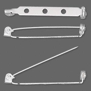 Pin backs with Locking Bar