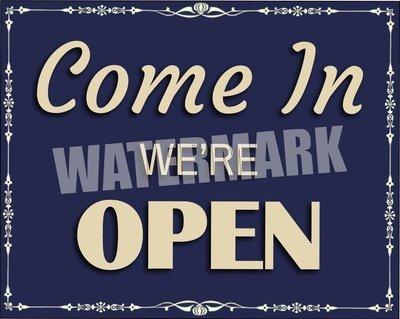 Business Office Establishment Open Closed Sign Instant Digital Download Print Wall Decor Graphic Art Printable DIY