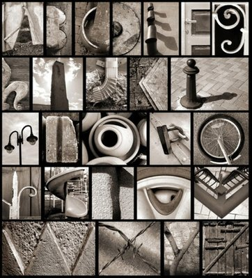 Creative Customized Alphabet Letter Art Photography (Download)
