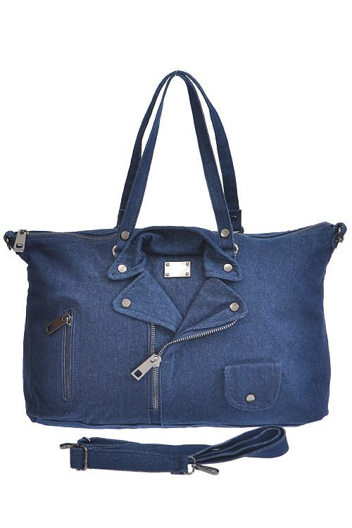 Denim Jacket Handbag