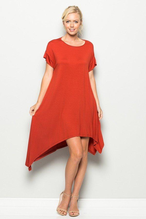Double Asymmetrical Dress 000011