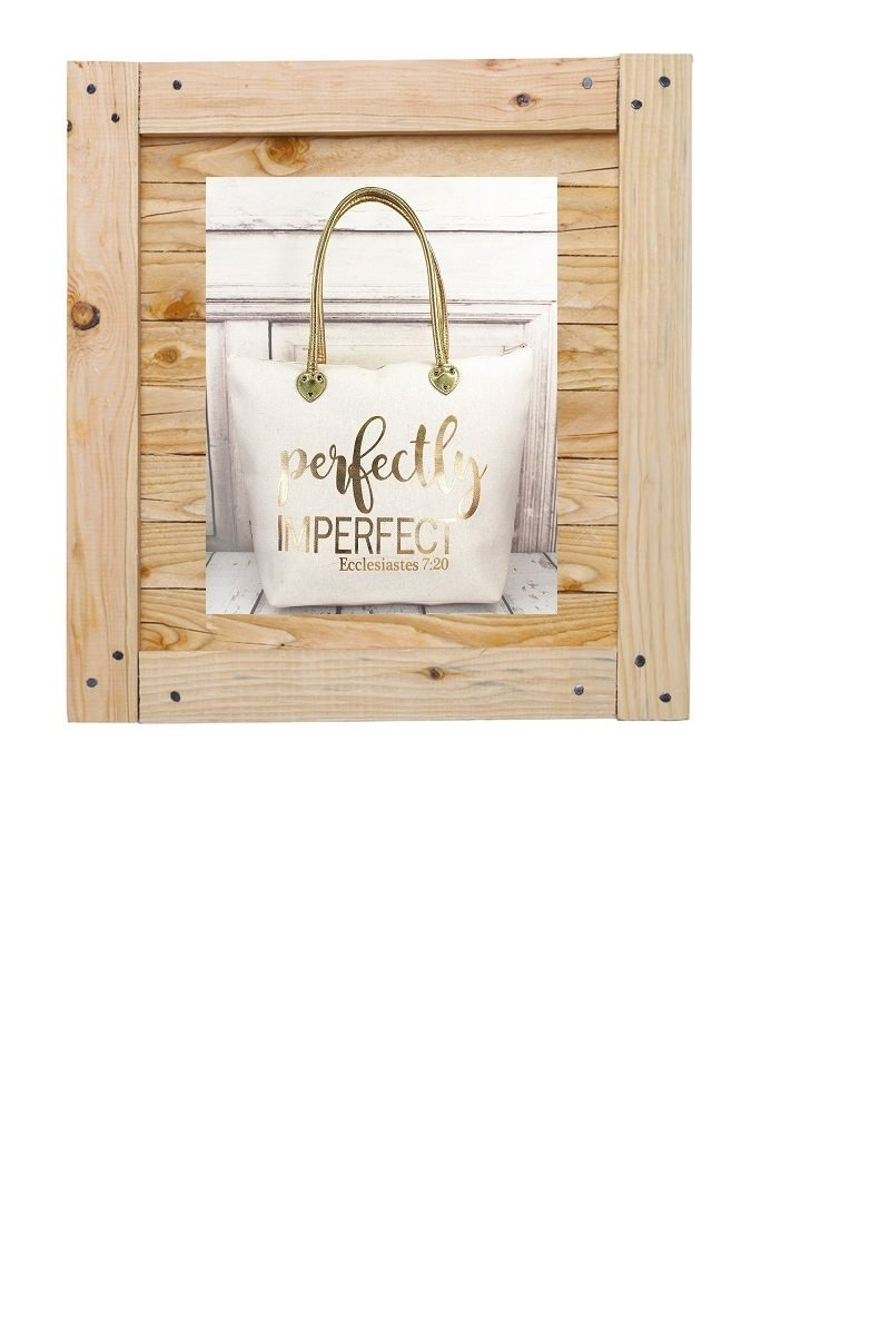 Perfectly Imperfect Tote Ecclesiastes 7:20 7075831