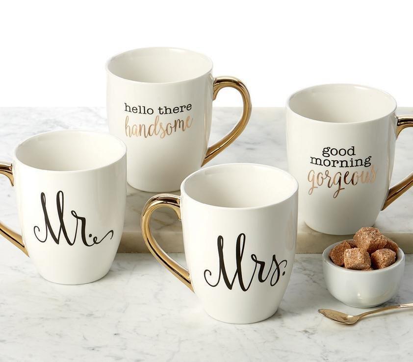 Mr and Mrs Mug Set MMMS44