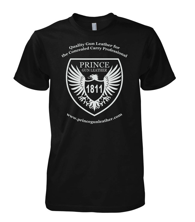 Prince Gun Leather T-Shirt