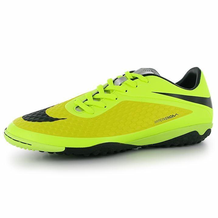 new style cc2ac 17aa9 Nike Hypervenom Phelon Mens Astro Turf Trainers (Yellow/Black)