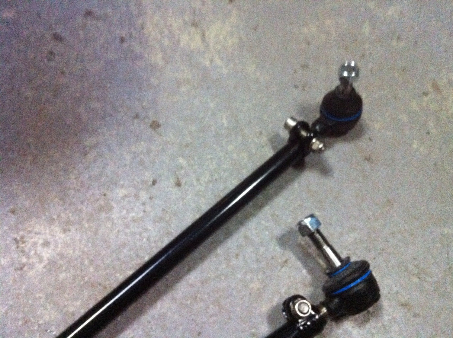 type 2 Meyle tie rods with ends