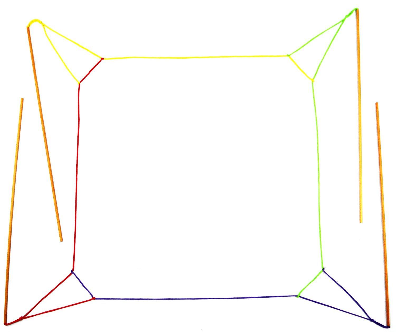 J2) Riesenseifenblasen-Himmel deluxe, ab 9 Jahre. 120cm x 120cm!