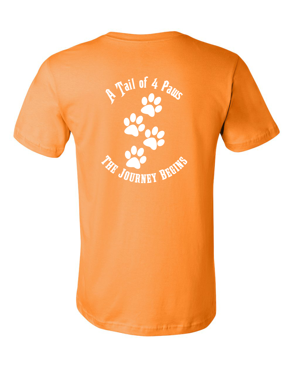 Back of Shirt Orange