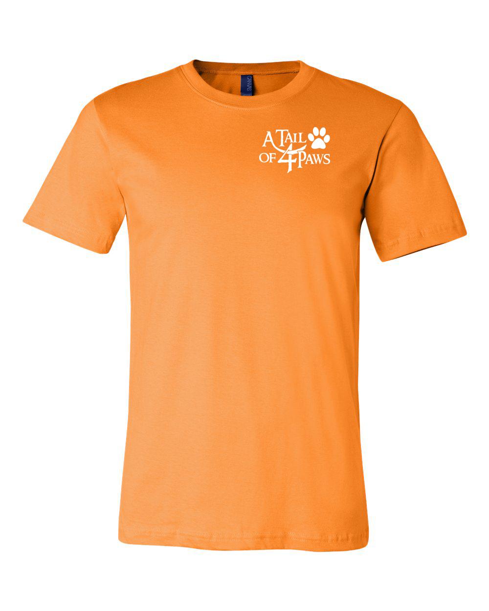 Front of shirt Orange