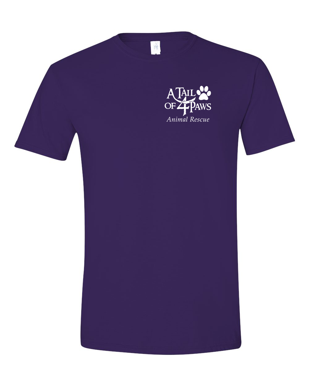 Front of Shirt Purple
