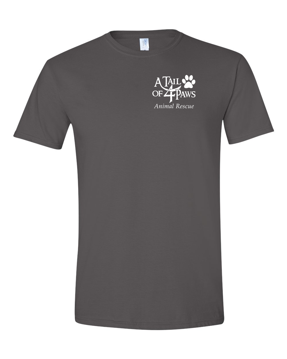 Front of Shirt Charcoal