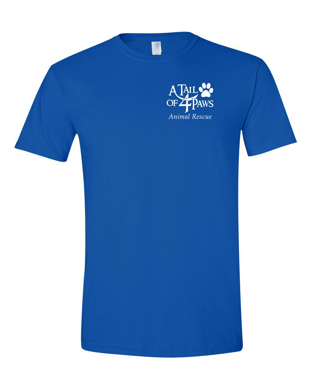 Front of Shirt Royal Blue