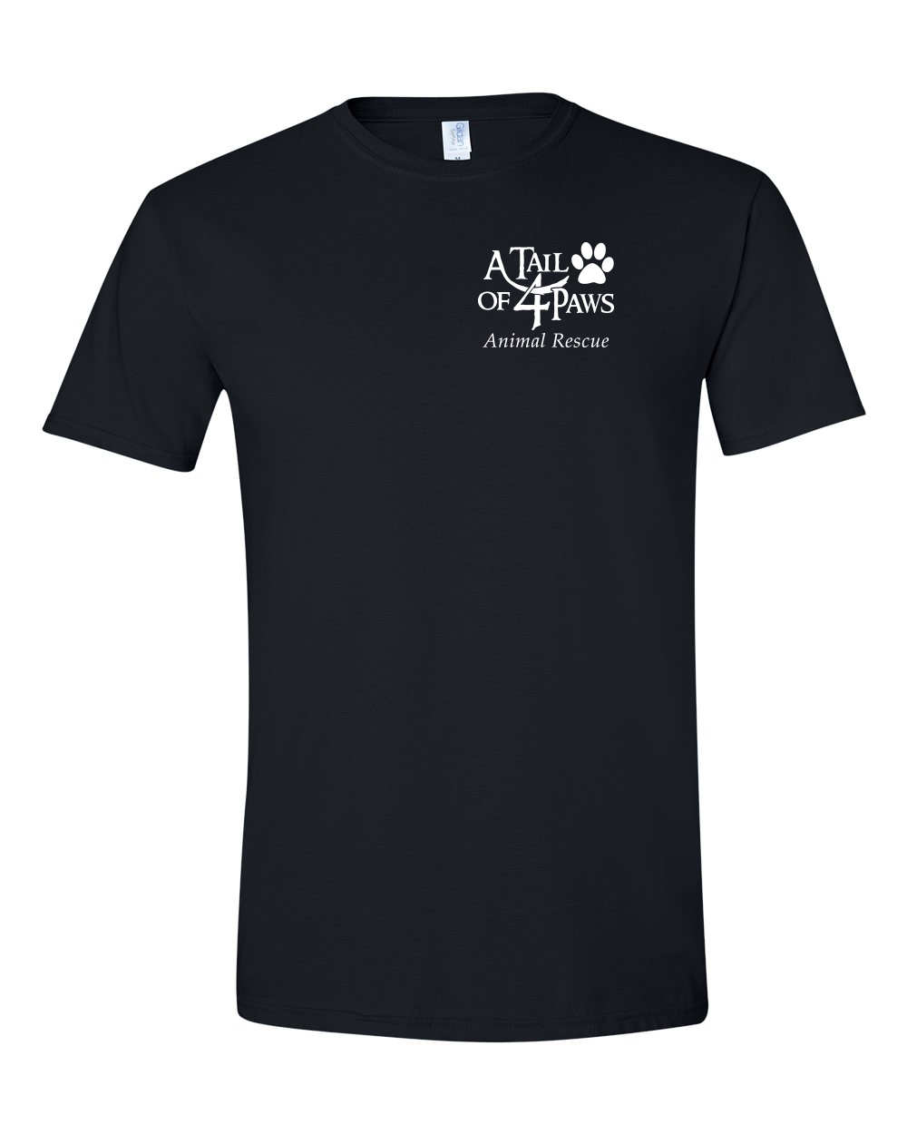 Front of Shirt Black