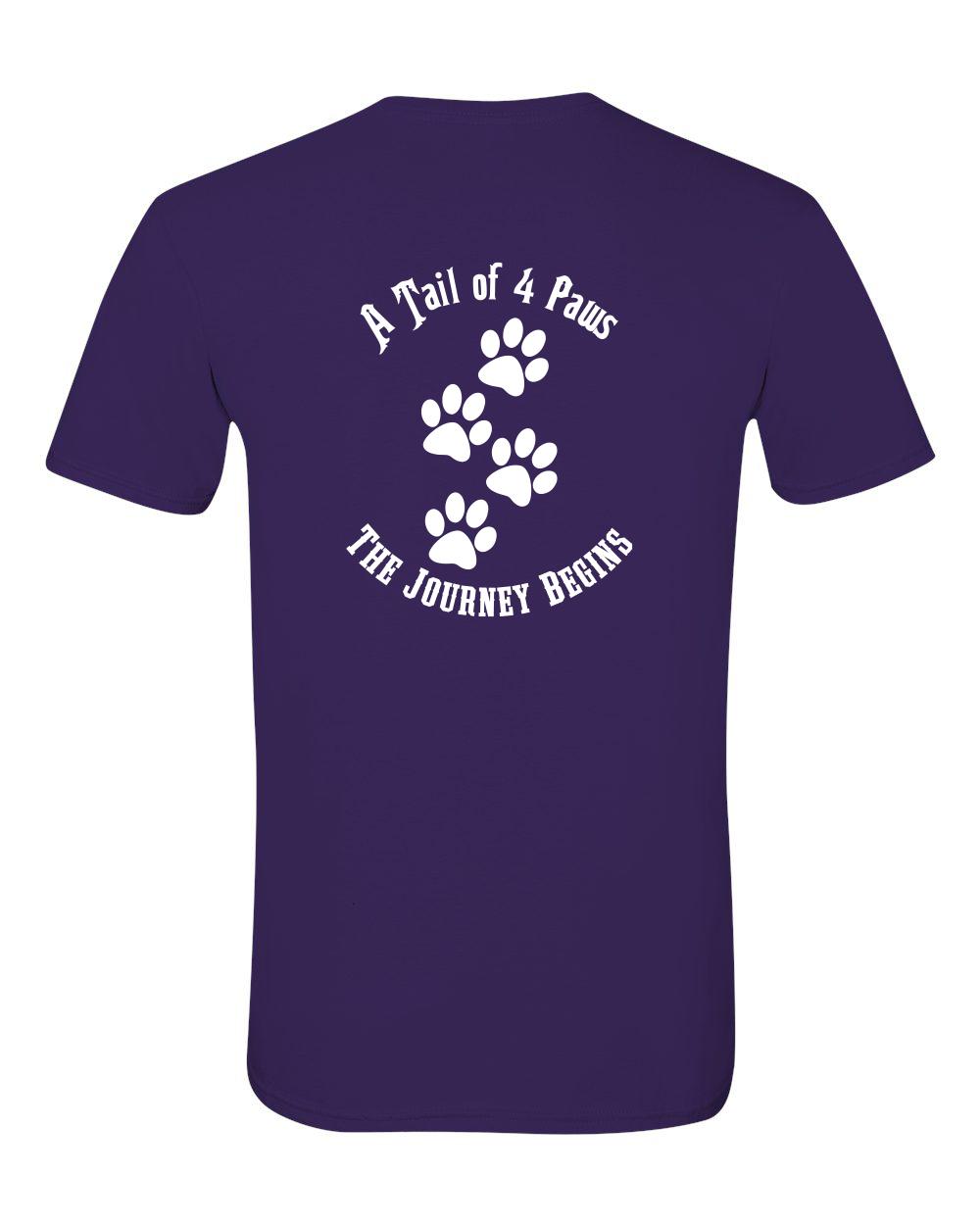 Back of Shirt Purple