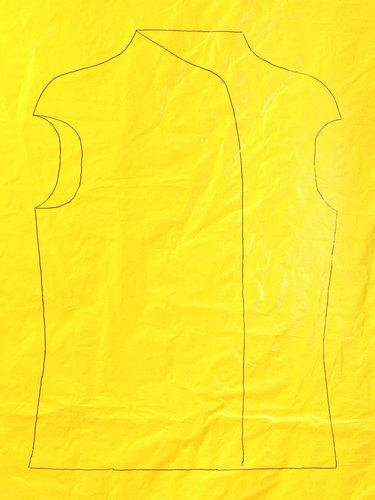 Semi-transparent Yellow Film