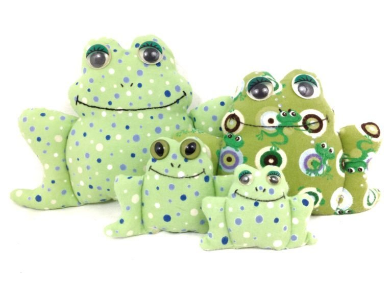 Free Stuffed Frog Sewing Pattern