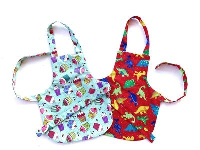 Child's Apron Pattern - Medium