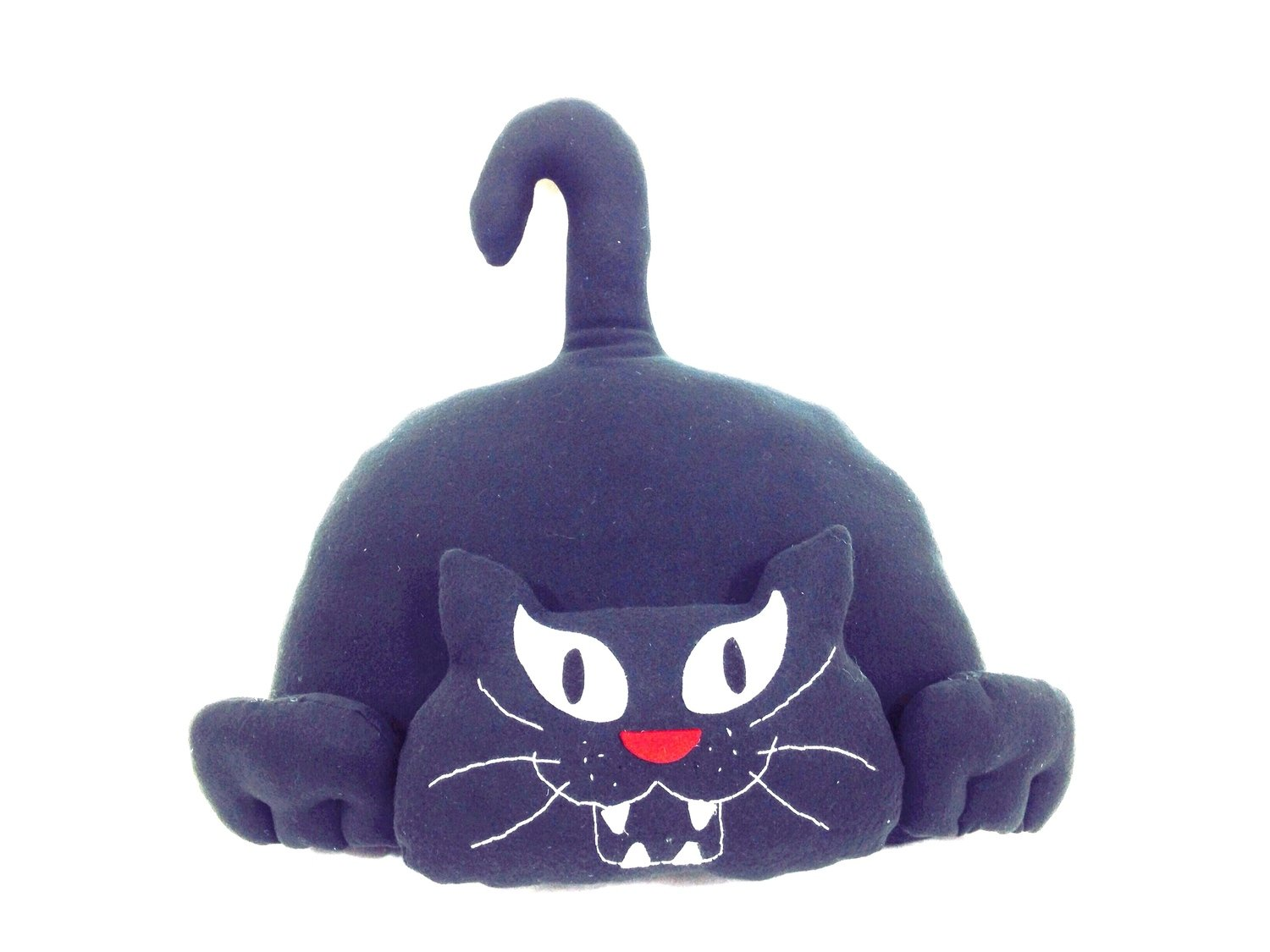 Giant Black Attack Cat