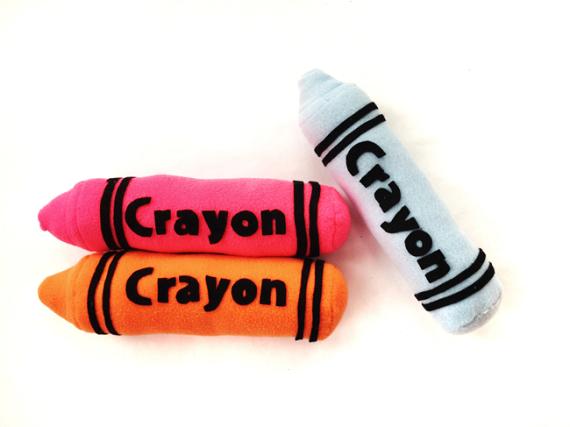 "13"" Plush Crayon Toy Pattern"