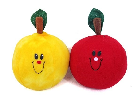 Plush Apple Pattern