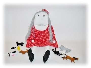 The Old Woman who Swallowed a Fly Sewing Pattern
