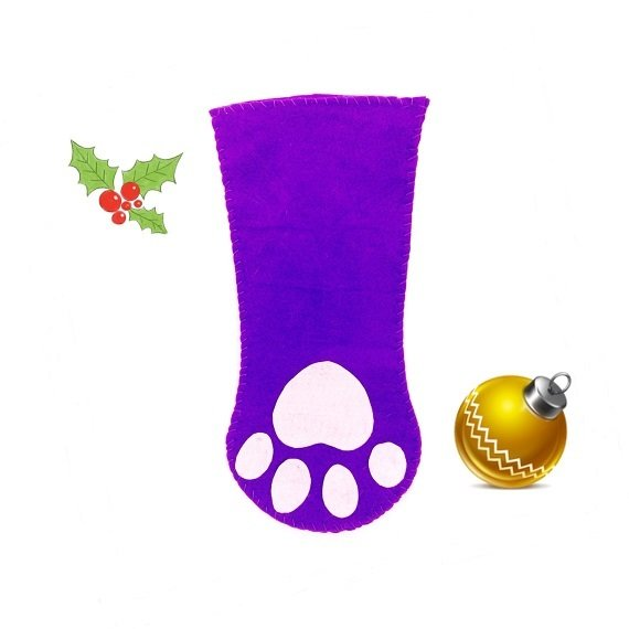 Free Paw Stocking Pattern