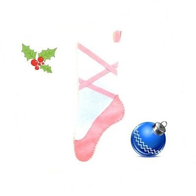 Free Ballet Slipper Stocking Pattern