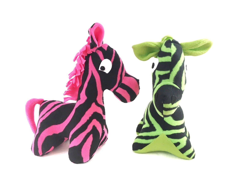 Plush Zebra Pattern