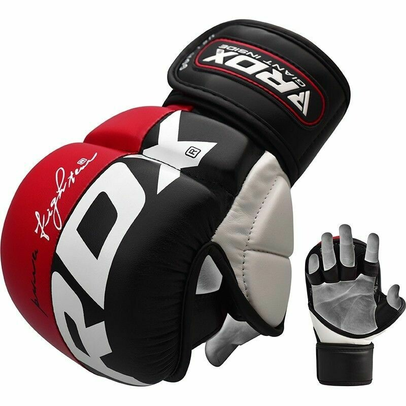 RDX T6 MMA Sparring Kickboxing Boxing Punching Bag Gloves