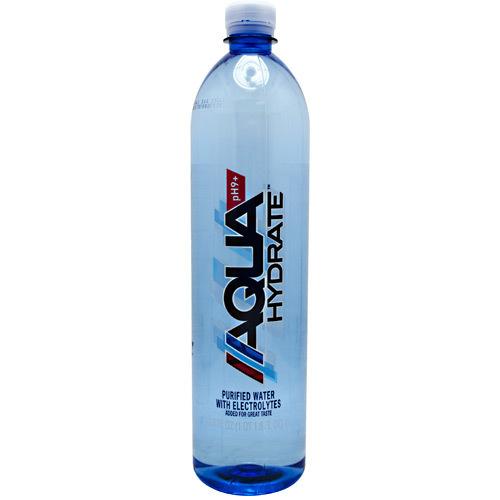 AQUAHYDRATE Electrolyte Enhanced Alkaline pH 9+ Water Bottles