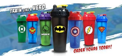 PERFECTSHAKER Hero Series Shakers