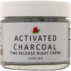 REVIVA LABS Activated Charcoal Time Release Night Cream