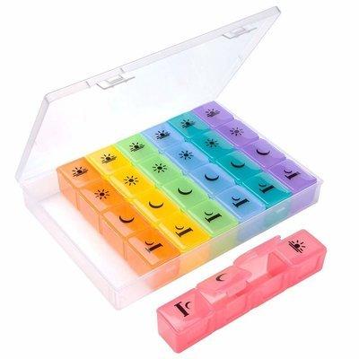PILLBOX Pill Organizer (4 times a day)