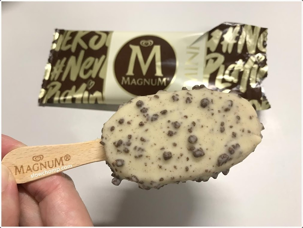 Magnum white chocolat & cookies 20 x 90 ml NIEUW