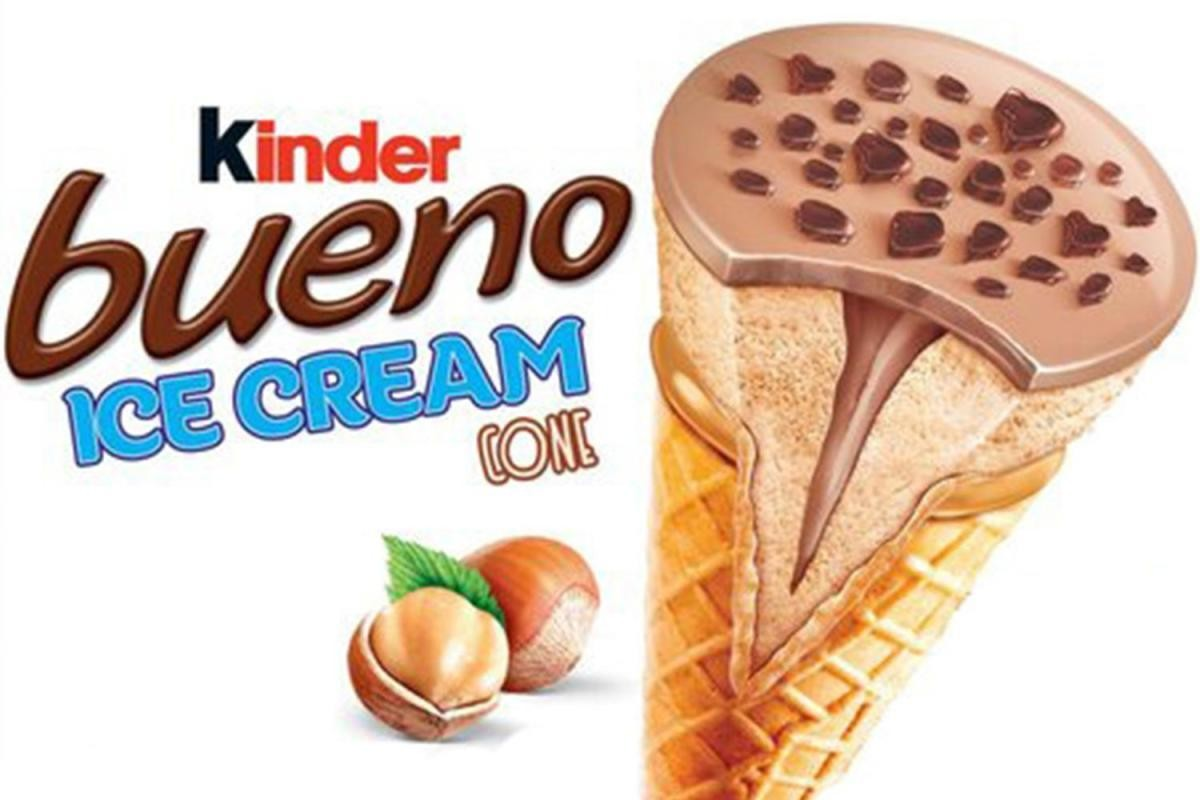 Kinder ice cream cone 33 x 90ml NIEUW
