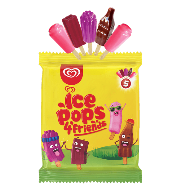 Ice Pops 4 Friends 20 x 5 x 17ml 050134