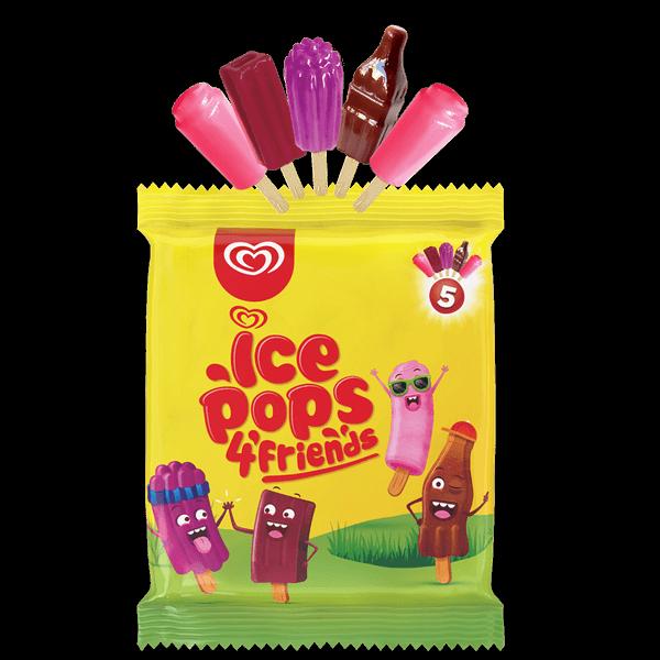 Ice Pops 4 Friends 20 x 5 x 17ml