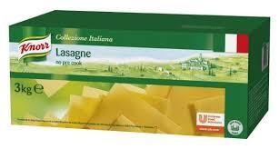 Lasagne napoli 3 kg knor