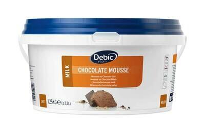 Chocolade  mousse 2.5 l melk schepklaar