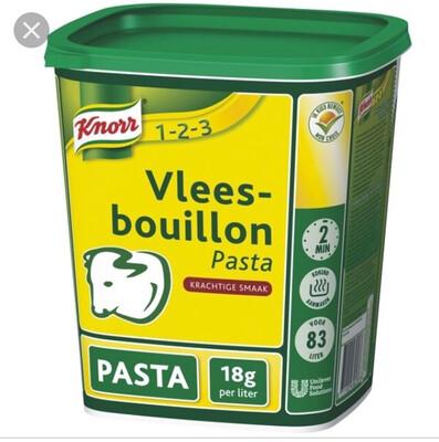 Vleesbouillon pasta 1,5 kg