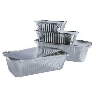 Aluminium bakjes nu 2 kopen + 1 gratis